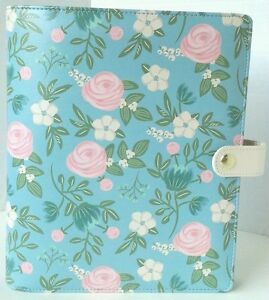 Floral Planner Floral Organizer Recollections Planner Pink Planner Blue A5 Size