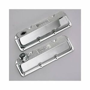 Ford Racing Aluminum Valve Covers M 6582 A342r Ford 351c Polished