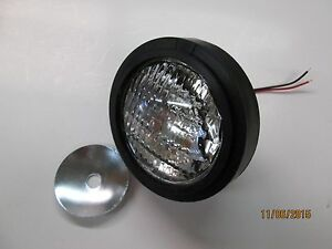 Universal Tractor Fender Light With Washer Tractor Headlight