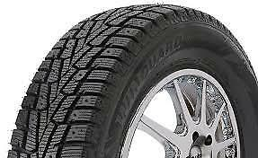 4 New P215 70r15 Nexen Winguard Winspike Winter Snow Tires 215 70r15 215 70 15
