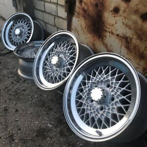 Bbs Mahle 15 X 7 0j 5x120 Wonderful Old School Wheels In Great Condition