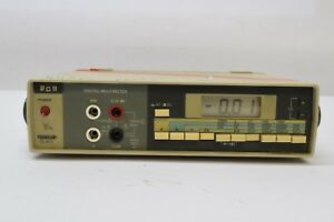 Used Mcm Tenma 72 410 Bench Test Digital Multimeter Battery Operated Guaranteed
