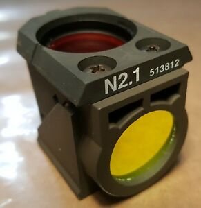Leica N2 1 Fluorescence Filter Cube 513812 11513812 From Dm Rbe Confocal