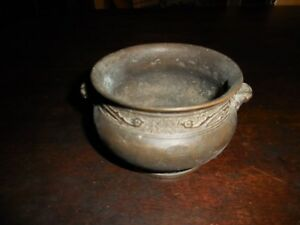 Antique Bronze Incense Bowl Ming Dynasty