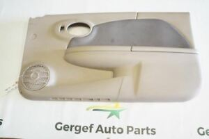 2004 Saturn Ion Coupe Front Right Rh Interior Door Panel Tan X5959