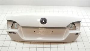 2011 2014 2013 2012 Vw Jetta Trunk Lid Hatch Tailgate Sedan Base White 5325