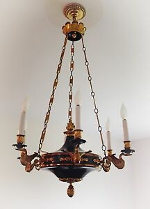 Luxurious Exceptional Quality French Empire Style Chandelier