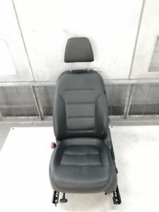 2013 2014 Vw Jetta Driver Front Left Seat Bucket Leather Black 5903