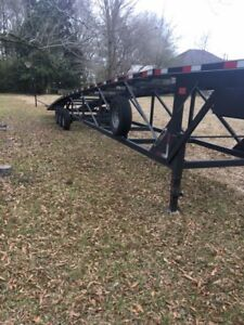 2015 Quality Trailer 50ft 3 Car Hauler