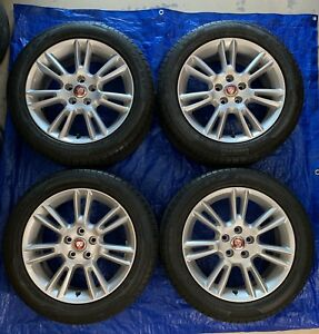 2017 Jaguar Xe Crux Wheels Rims Tires 17 Factory Oem Stock Silver Gx7m 1007 kb