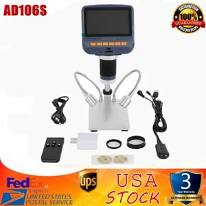 Andonstar Ad106s Usb Digital Microscope 4 3 Hd 1080p For Smd Soldering Repair