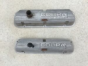 Mustang 67 68 69 60 Shelby Gt350 Oem Used Cobra 289 302 351w Valve Cover Set