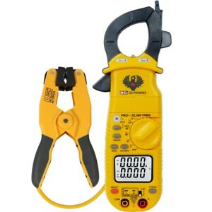 Uei Dl389combo Phoenix Pro Plus Clamp Meter And Pipe Clamp Brand New