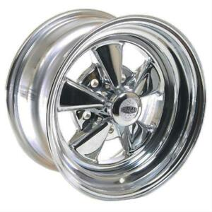 Cragar 08 61 S S Super Sport Chrome Wheel 15 X8 5x5 Bc Set Of 2