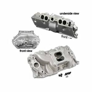 Summit Racing Stage 2 Intake Manifold Chevy Bbc 396 427 454 Fits Oval Port Heads