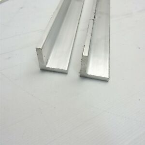 375 Thick Aluminum 2 X 2 Angle 62 875 Long Qty 2 Sku 106074