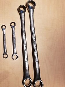 4 Piece Craftsman Us Double Box End Wrench Lot 1 15 16 7 8 3 4 9 16 1 2 7 16 3 8