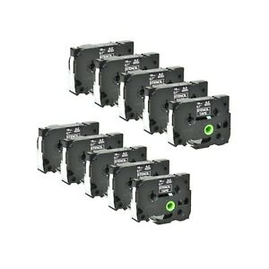 10pk Mobile Solution Stencil Tape Cassette Ste141 For Brother P touch Pt 520 300
