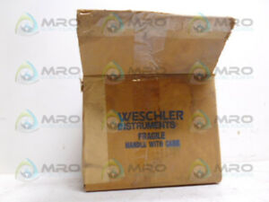 Weschler Ea 251 671b399a18 Meter 0 400a new In Box