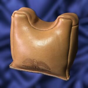 Protektor Leather Standard Front Shooting Rest ~ Model #7 Heavy Bottom Bag