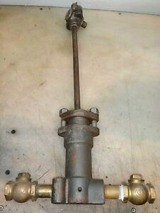 S m Jones Acme Water Pump Oil Field Engine Old Hit And Miss Gas Engine