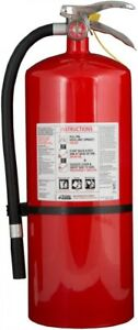 Kidde Fire Extinguisher 6a 120 B c Mounting Bracket Pressure Guage Rechargeable