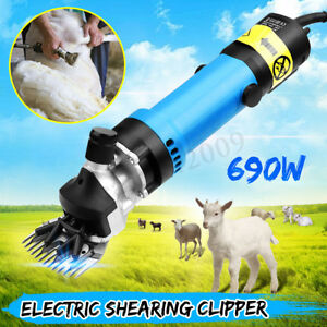 690w Sheep Shears Goat Clippers Animal Livestock Shave Grooming Farm Supplies