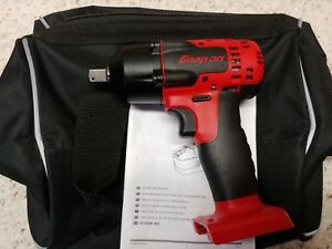 Snap on ct8815 18v monsterlit ion 1 2 Impact Wrench pinned Anvil tool Only new