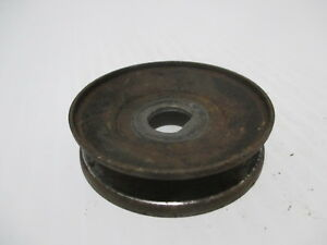 Maytag 72 Twin Cylinder Pulley Very Nice No Pitting Multi Motor