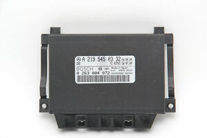 Mercedes Benz Cls500 Parktronic Parking Control Module Unit 2195450332 Oem 2006