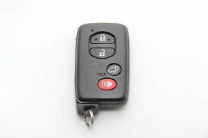 Toyota Venza Smart Key Remote Fob W Easy Closer And Power Back Door Oem 10 17