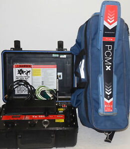 Radiodetection Rd pcmx Underground Utility Cable Pipe Locator Tx 150 Pcm Rd8100