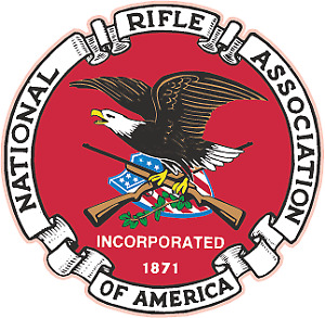Nra National Rifle Association Of America Gun Rights Logo Vinyl Sticker Decal