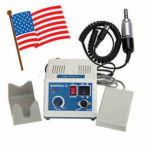 Dental Lab Marathon Polishing Set E type Electric Micromotor 35k Rpm Us Suffa