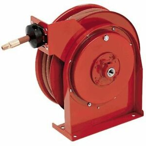 Reelcraft Air water Hose Reel With Hose 1 2in X 50ft Hose Max 300 Psi