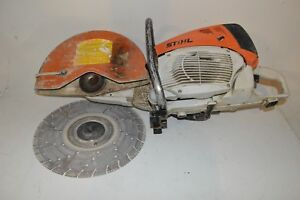 Stihl Ts 800 Concrete Cement Cinder Block Masonry Brick Cut off Saw Used Tested