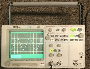 Agilent 54621a Digital Oscilloscope 60mhz 200msa s Megazoom 2 Channel used