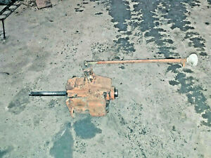 Allis Chalmers Wc Tractor 4 Speed Transmission Complete Ac Part Wf