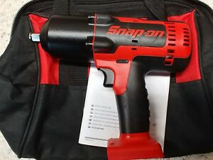 Snap On Ct8850 1 2 18volt Monsterlithium Ion Impact Wrench Tool Only Used