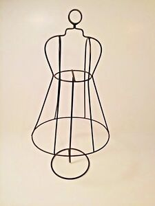 Metal Wire Black 15 Style Mannequin Fashion Form 15 Tall Decoration Jewelry