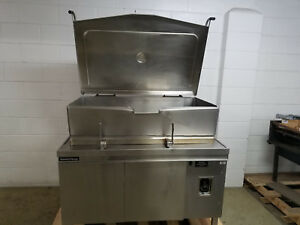 Market Forge 1700 Tilt Braising Skillet Kettle Tested 115v