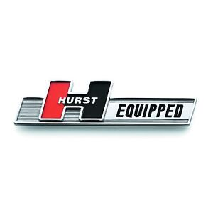 Hurst 1361000 Hurst Equipped Emblem Adhesive Attachment 5 25