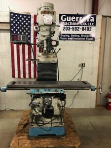 Supermax Yci Vertical Milling Machine Model 20vs W dro And Power Knee