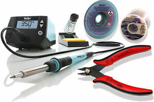 Weller We1010na Kit 2 Includes Clipper Desoldering Braid And One Pound Spool