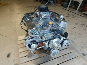 Mopar 340 Based 416 Engine Assembly H Perf Hi Quality Build Custom 510hp 517tq