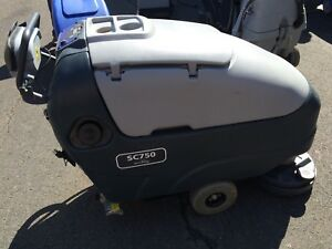 26 Advance Sc750 26d Industrial Walk Behind Floor Scrubber