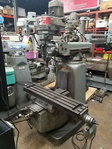 Kondia Vertical Milling Machine Powermill 2 Hp 9 x 42 Table
