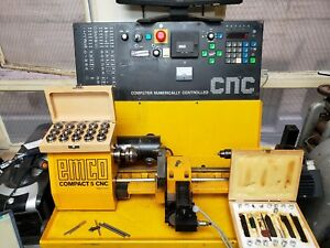 Emco Compact 5 Cnc With Wellturn Upgrade