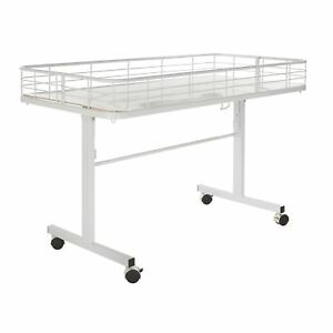 Econoco Folding Dump Table White New