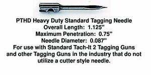 Tach it Pro tach Heavy Duty Replacement Tagging Needles pack Of 10 New